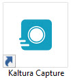 Kaltura capture icon