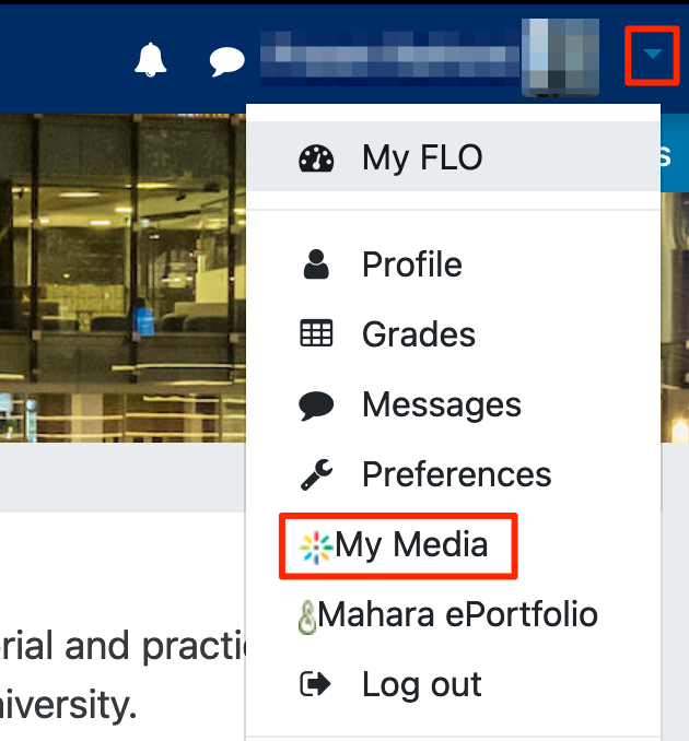 Flo menu my  media