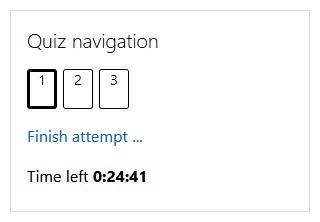 quiz time clock
