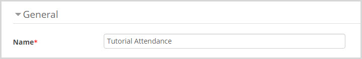 Attendance Name