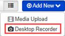 Add New - Desktop Recorder