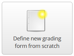 define new grading form