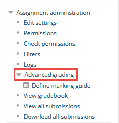 advanced grading