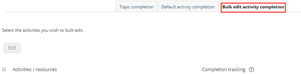bulk edit activity completion