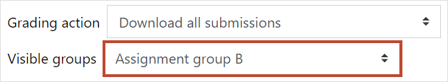 Group filter