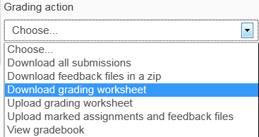 download grading worksheet