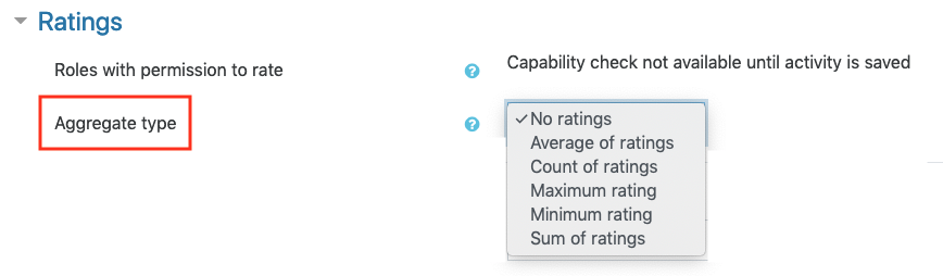 rating aggregrate type