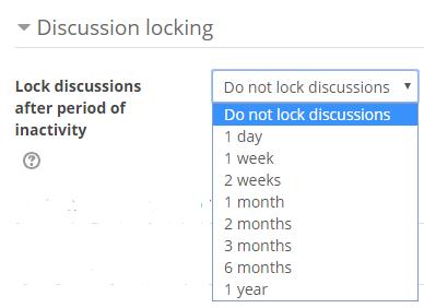 discussion locking