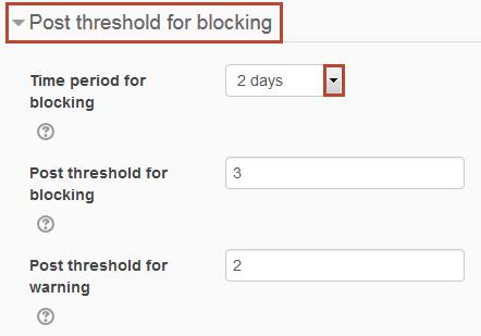 block threshold