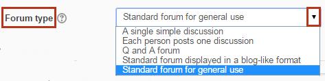 forum type