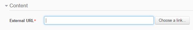 URL - type url
