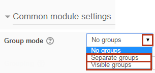group mode
