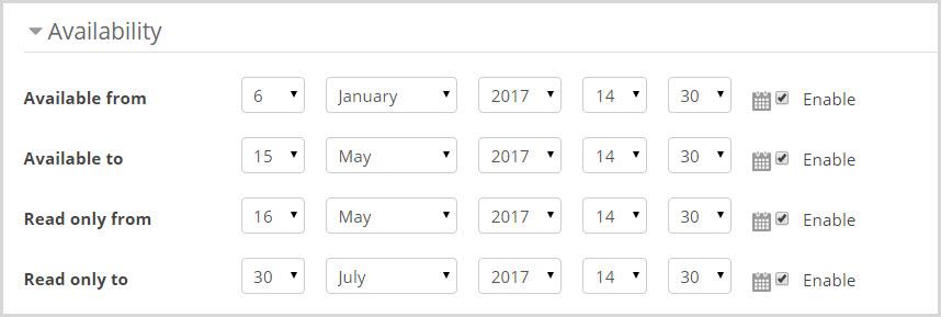 database availability