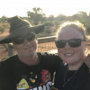 My partner & I on our way home to Adelaide after 2 years in Darwin.