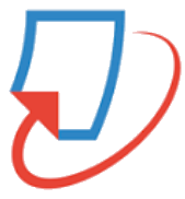 red and blue turnitin logo